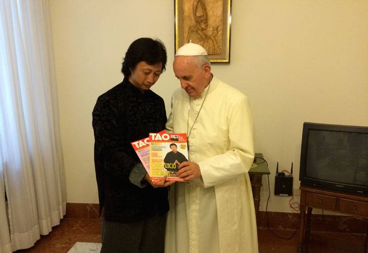Bergoglio en zijn Taoïstische genezer