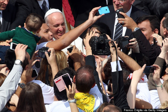 Pope Leads Palm Sunday Mass at St. Peter's Square