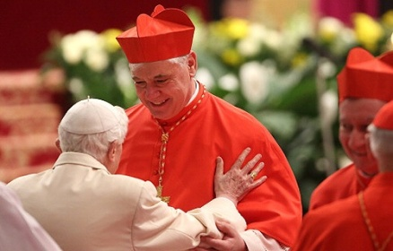 New_German_Cardinal_Gerhard_Ludwig_Muller_is_met_by_Benedict_XVI_in_St_Peters_Basilica_Feb_22_2014_Credit_Franco_Origlia_Getty_Images_News_Getty_Im