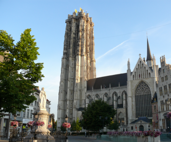 De Sint-Romboutskathedraal te Mechelen - foto: wikipedia