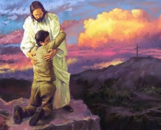 Child accepting Jesus