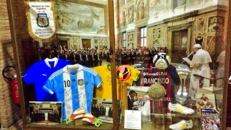 football shrine in Vatican