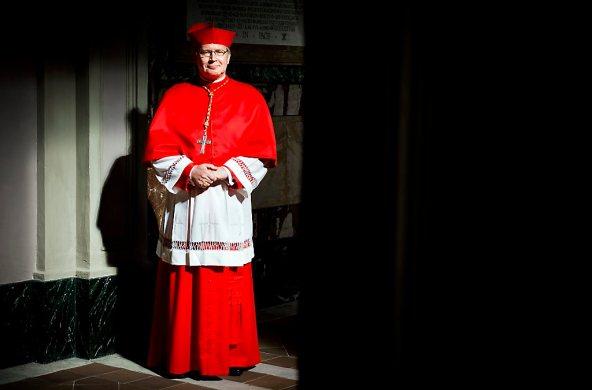 VATICAAN - Portret van kardinaal Wim Eijk. ANP KOEN VAN WEEL