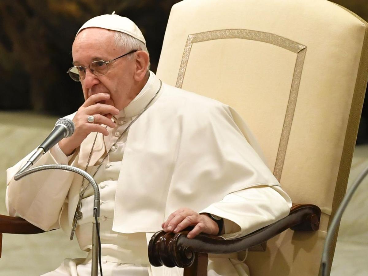 """Bergoglio: """"Terwille van mijn mentale gezondheid lees ik de websites van het zogenaamde 'verzet' niet"""""""